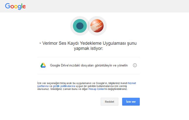 sanal santral - google drive entegrasyonu